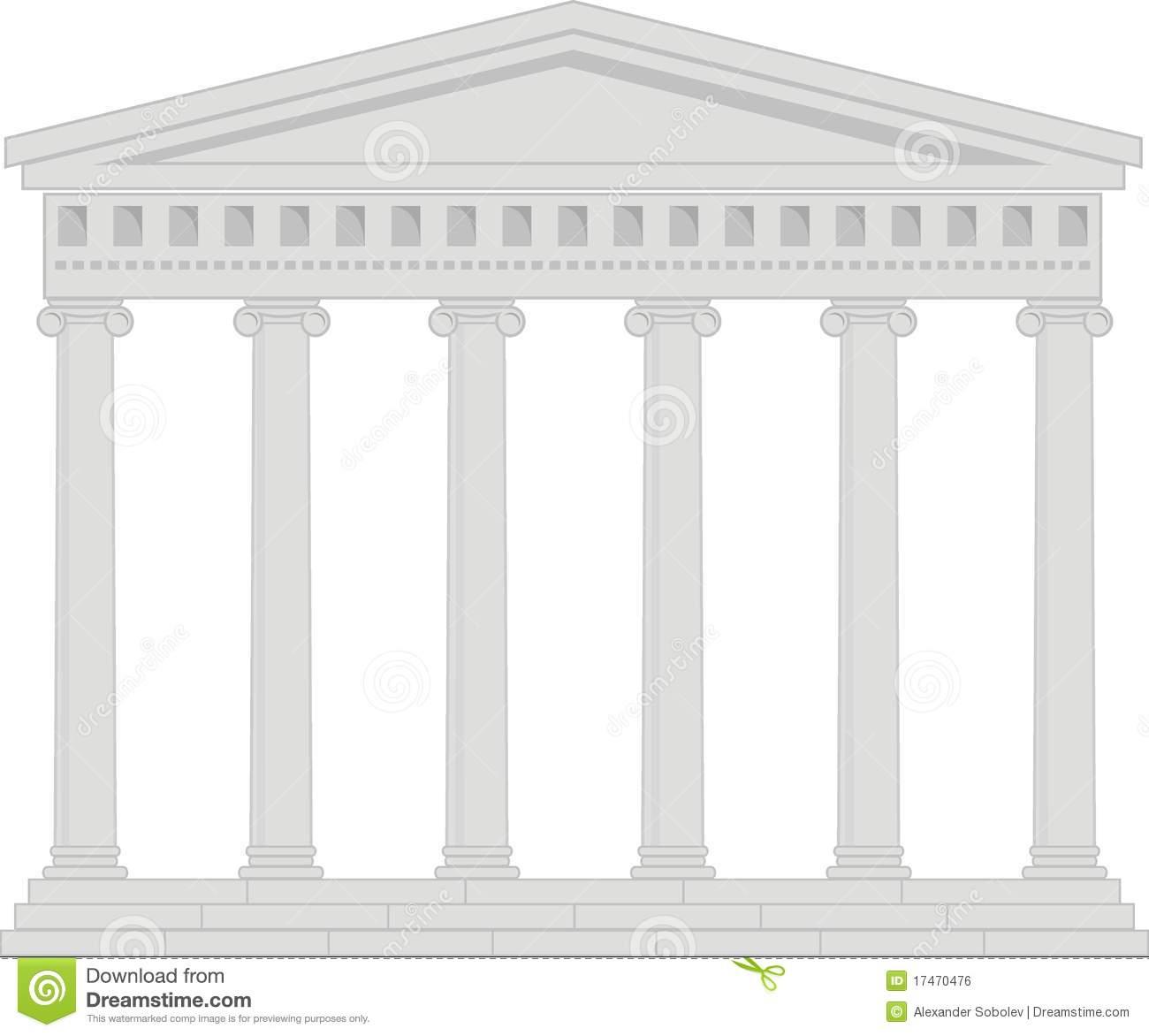 Greek temple clipart free svg royalty free download Pediment Stock Illustrations – 221 Pediment Stock Illustrations ... svg royalty free download