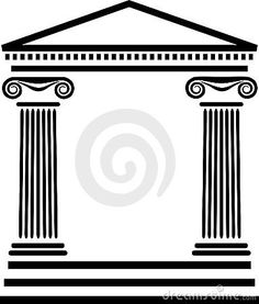 Greek temple clipart free clipart transparent stock Greek Columns Clip Art – Clipart Free Download clipart transparent stock