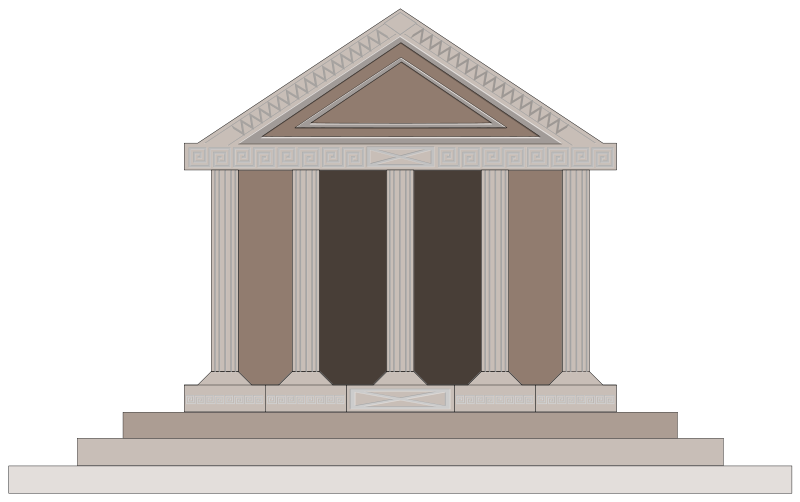 Greek temple clipart free graphic transparent library Greek Clipart | Free Download Clip Art | Free Clip Art | on ... graphic transparent library