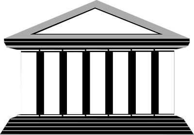 Greek temple clipart free vector black and white library Greek Buildings Pictures | Free Download Clip Art | Free Clip Art ... vector black and white library