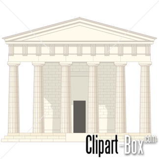 Greek temple clipart free vector free stock CLIPART GREEK TEMPLE | Royalty free vector design vector free stock