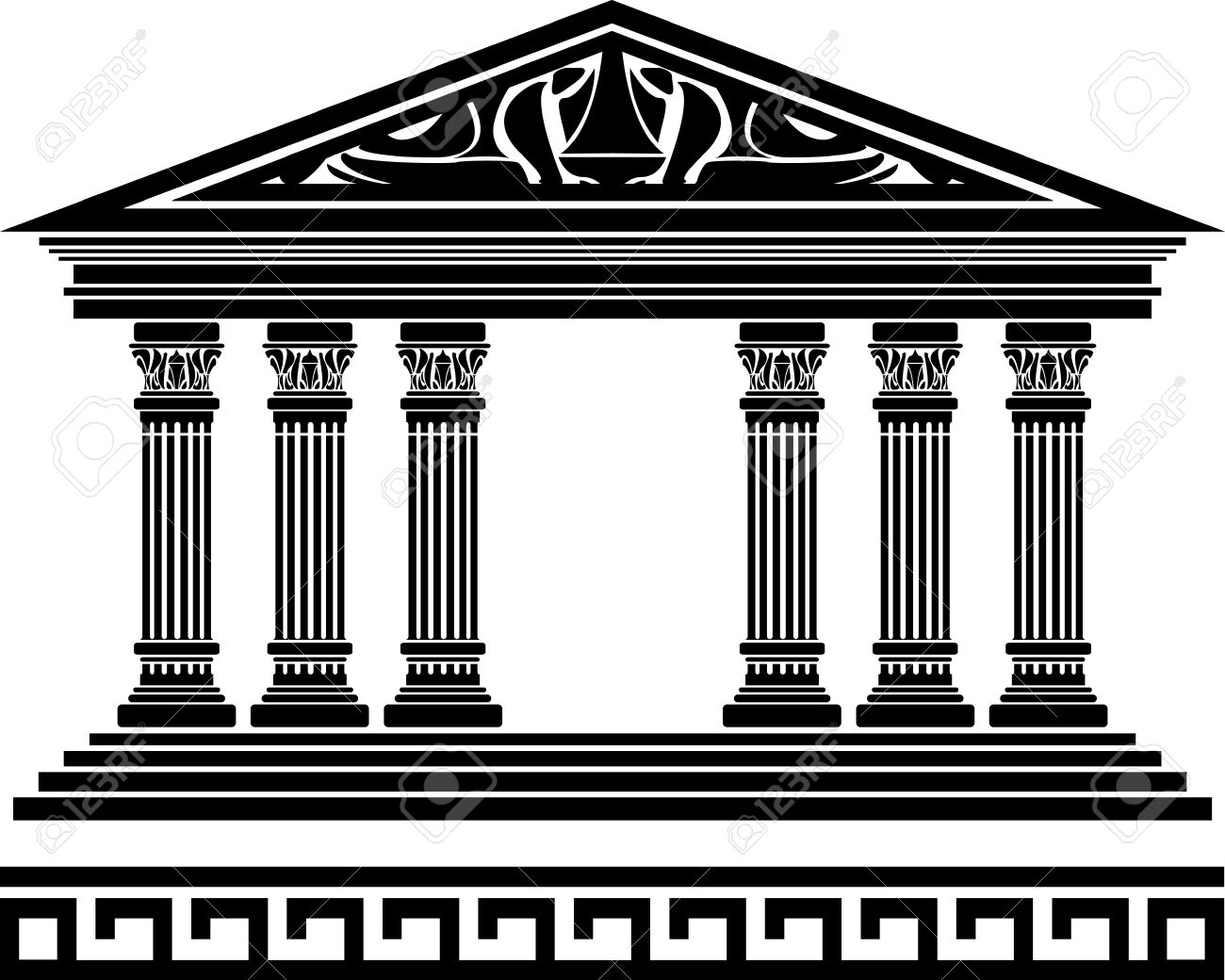 Greek temple clipart free picture transparent download 17 Best images about Year 5 Ancient Greek art topic on Pinterest ... picture transparent download
