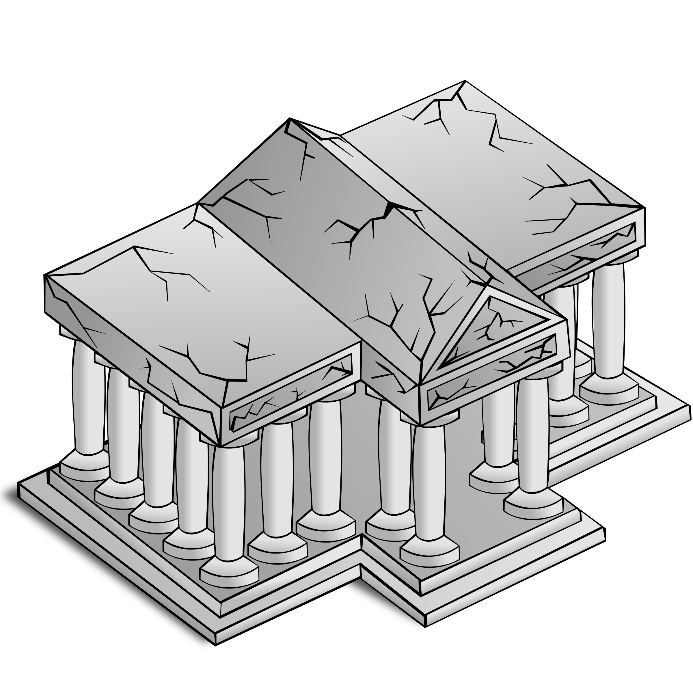 Greek temples clipart image black and white Greek Columns Drawing at GetDrawings.com | Free for personal use ... image black and white