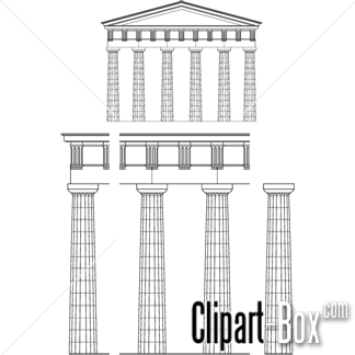 Greek temples clipart clip art royalty free library CLIPART GREEK TEMPLE | Royalty free vector design clip art royalty free library
