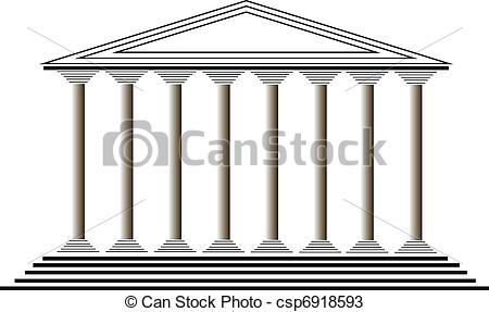Greek temples clipart vector library library Greek temple Vector Clipart Royalty Free. 969 Greek temple clip ... vector library library
