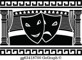 Greek theatre clipart png royalty free download Greek Theatre Clip Art - Royalty Free - GoGraph png royalty free download