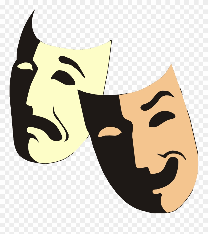 Greek theatre clipart vector transparent stock Yükle Greek Theater Mask Facts Entertainment Guide Clipart (#2253557 ... vector transparent stock