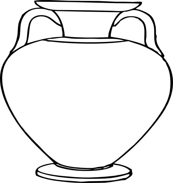 Greek vases clipart vector free stock 17 Best images about Vasi on Pinterest | Pottery designs, Clip art ... vector free stock