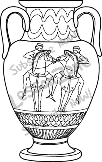 Greek vases clipart image royalty free download Greek urn clipart - ClipartFest image royalty free download