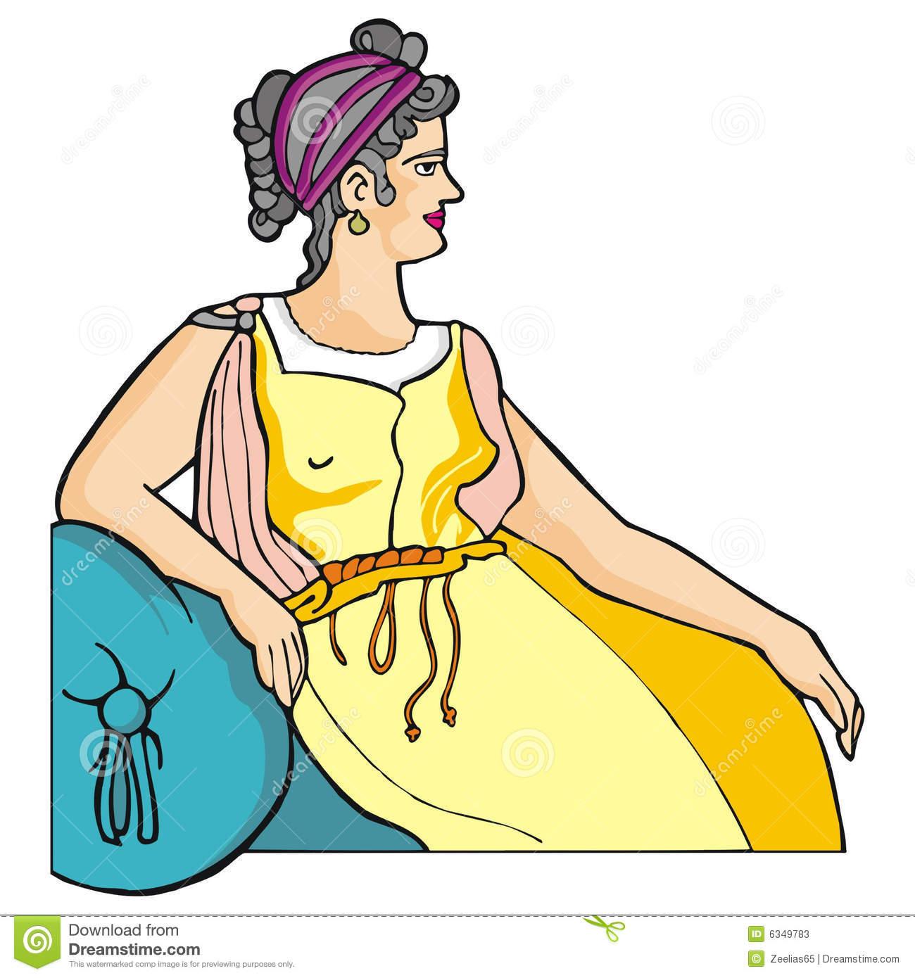 Greek woman clipart transparent stock Greek Woman Stock Photos - Image: 6349783 transparent stock
