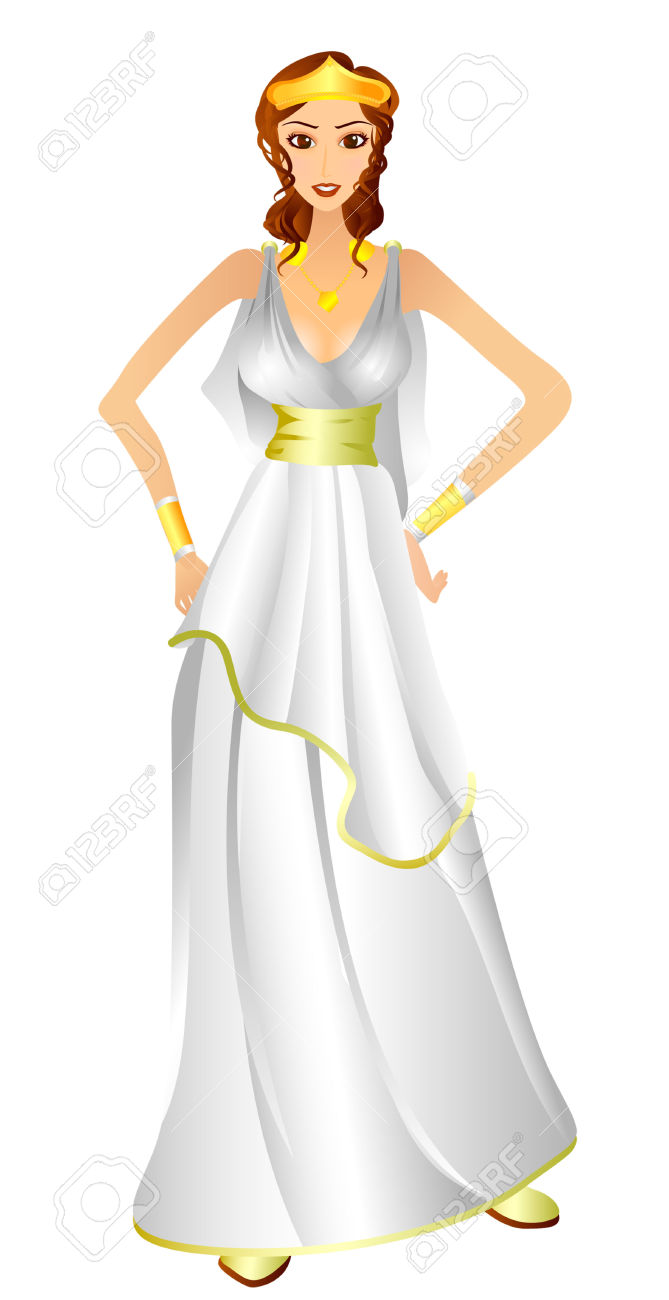Greek woman clipart svg freeuse download Greek Costume With Clipping Path Royalty Free Cliparts, Vectors ... svg freeuse download