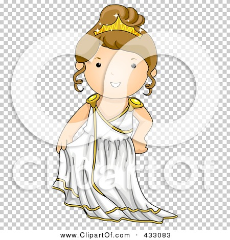Greek woman clipart picture transparent download Royalty-Free (RF) Clipart Illustration of a Greek Girl by BNP ... picture transparent download