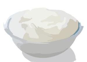 Greek yogurt clipart clip library stock Bowl Of Greek Yogurt Clip Art at Clker.com - vector clip art online ... clip library stock