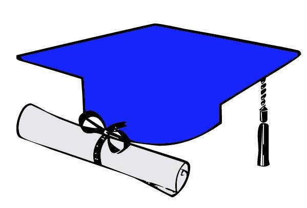 Green and blue clipart of grad caps clip art freeuse Free Graduation Cap Blue Clipart, Download Free Clip Art, Free Clip ... clip art freeuse