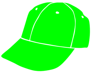 Green and yellow baseball hat clipart image stock Lime Baseball Cap Clip Art at Clker.com - vector clip art online ... image stock