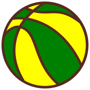 Green and yellow clipart graphic download Basketball Green And Yellow Clip Art at Clker.com - vector clip art ... graphic download