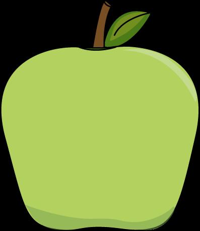 Green apples clipart clip art transparent download Big Green Apple Clip Art Image | printables & tutorials | Apple clip ... clip art transparent download