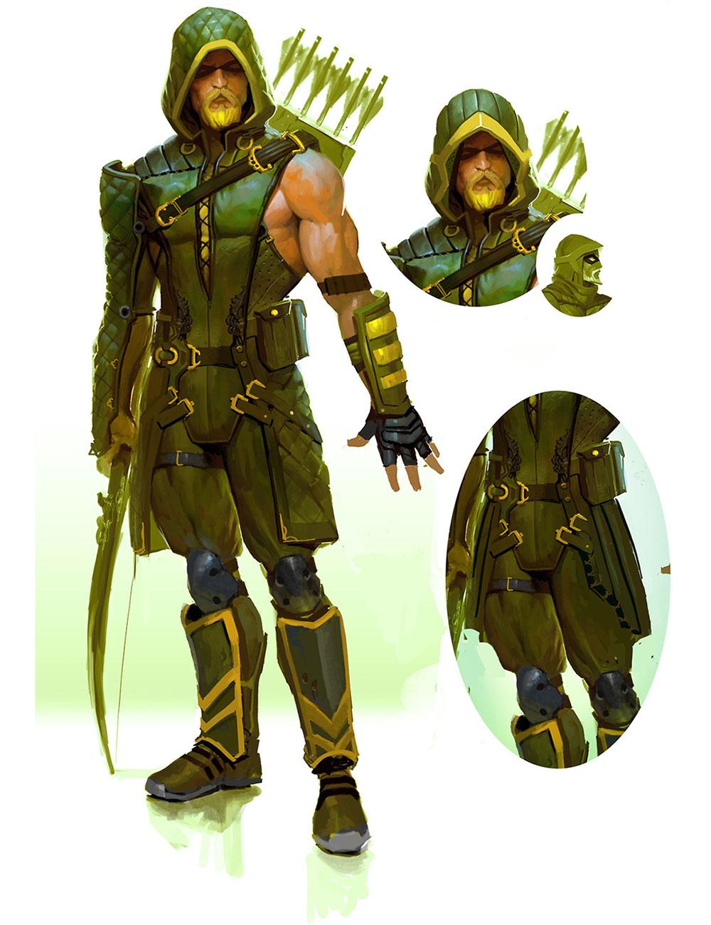 Green arrow artwork png download Green Arrow | Video Games Artwork png download