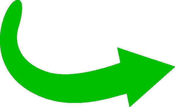 Green arrow clip art banner Green Arrow Curve Clip Art at Clker.com - vector clip art online ... banner