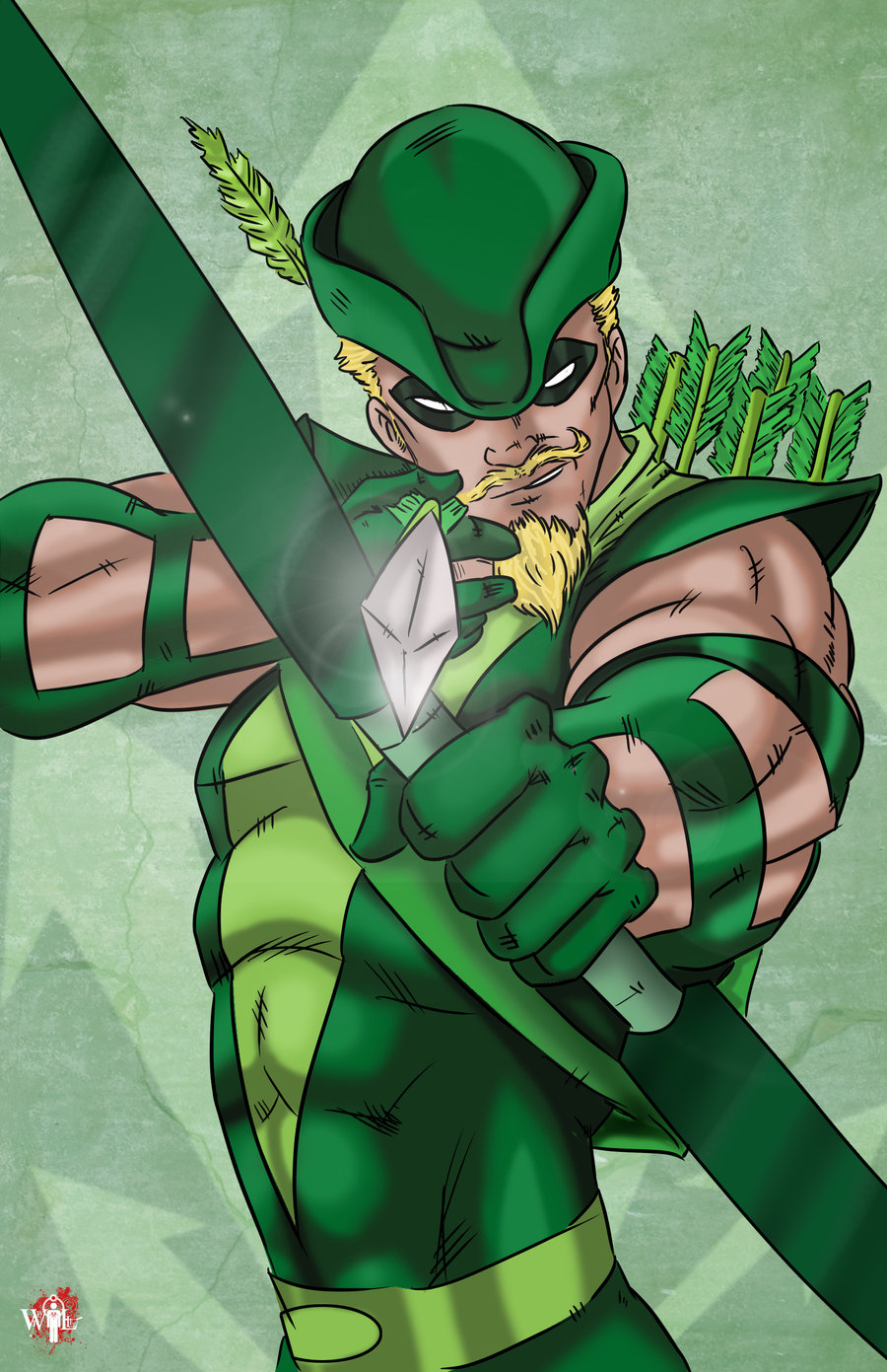 Green arrow image png royalty free Green Arrow by doubleleaf on DeviantArt png royalty free