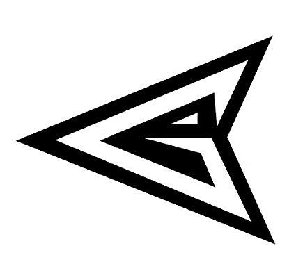 Green arrow logo black and white clipart clipart royalty free download Amazon.com: CCI Green Arrow Symbol Hero Decal Vinyl Sticker|Cars ... clipart royalty free download