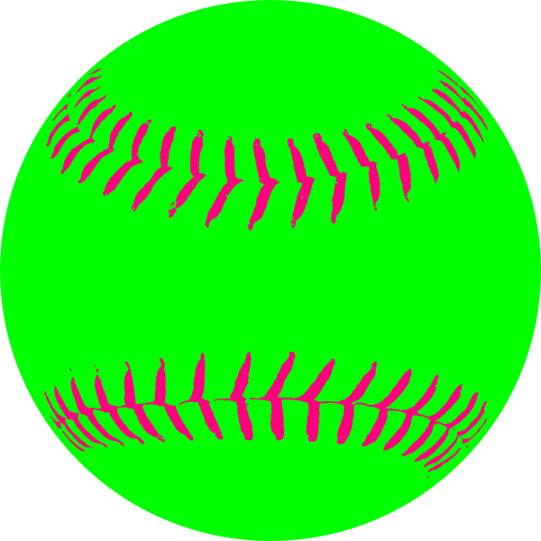 Youth baseball clipart clip freeuse library Green Softball Clip Art at Clker.com - vector clip art online ... clip freeuse library