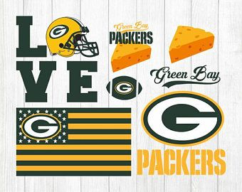 Green bay packer clipart free banner freeuse stock INSTANT DOWNLOAD - Green Bay Packers, Green Bay Svg File, Green Bay ... banner freeuse stock