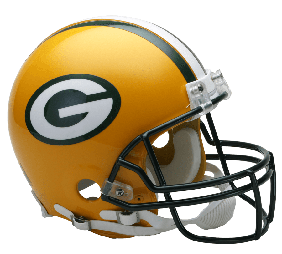 Green bay packer helmet clipart image free download Green Bay Packers Helmet transparent PNG - StickPNG image free download