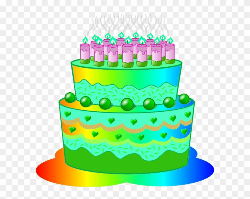 Big cake clipart png free Green Clipart Birthday Cake - Big Birthday Cake Png Hd, Transparent ... png free