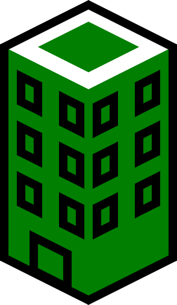 Green building clipart clipart stock Green building clipart - Clipartable.com clipart stock