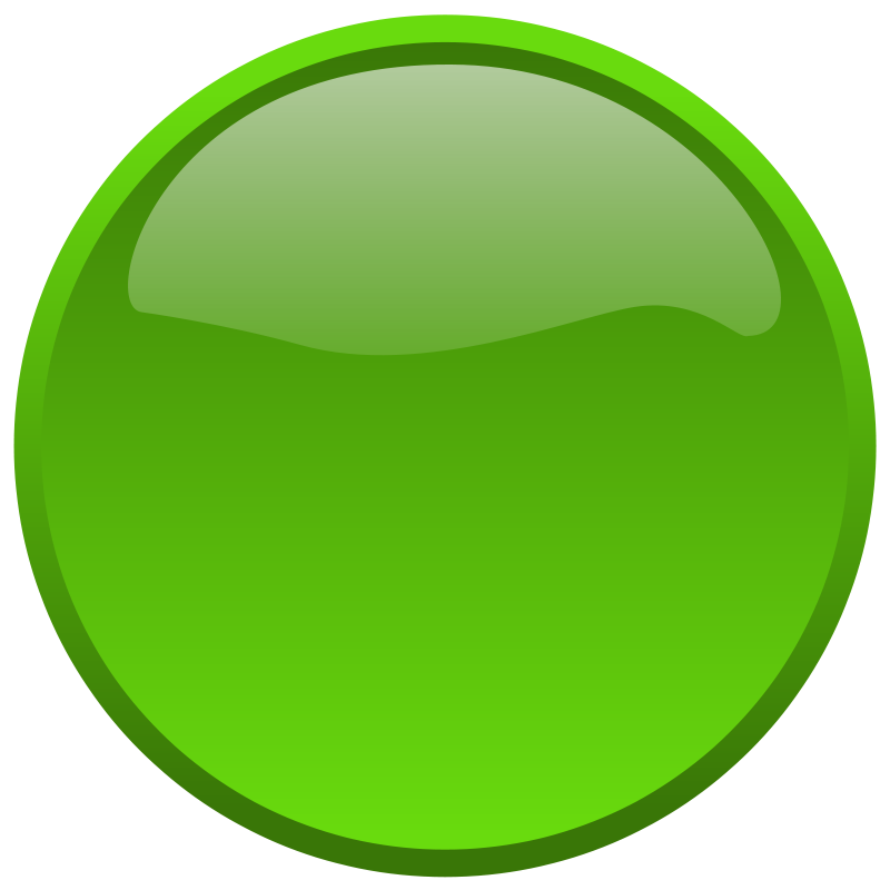 Green button clipart