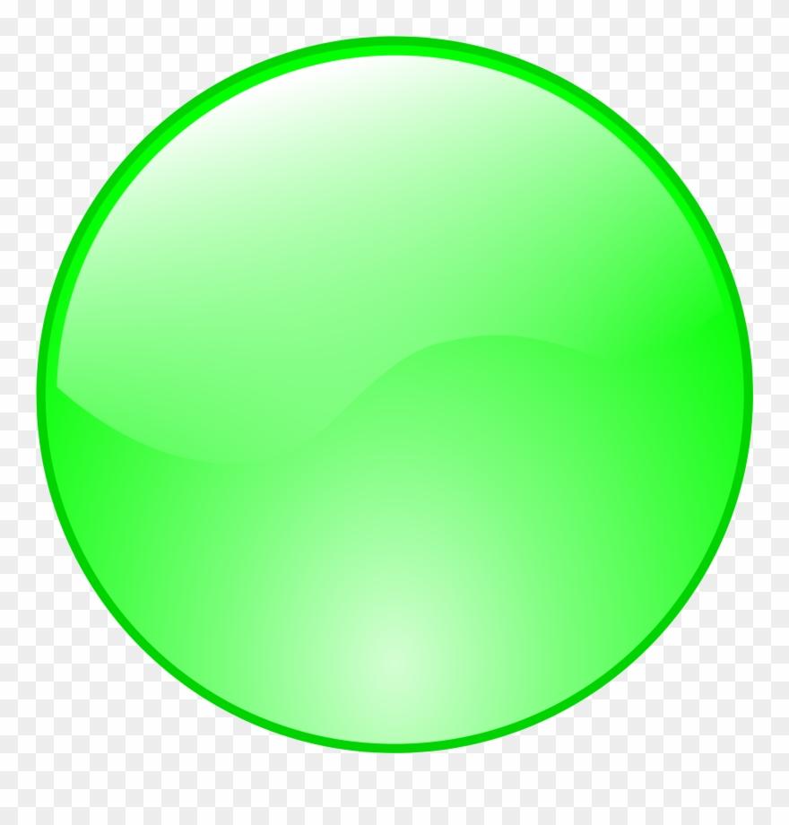 Green button clipart picture transparent download Button Clipart Green Circle - Green Button Icon - Png Download ... picture transparent download
