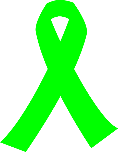 Green cancer ribbon clipart banner free download Lime Green Cancer Ribbon Clip Art at Clker.com - vector clip art ... banner free download