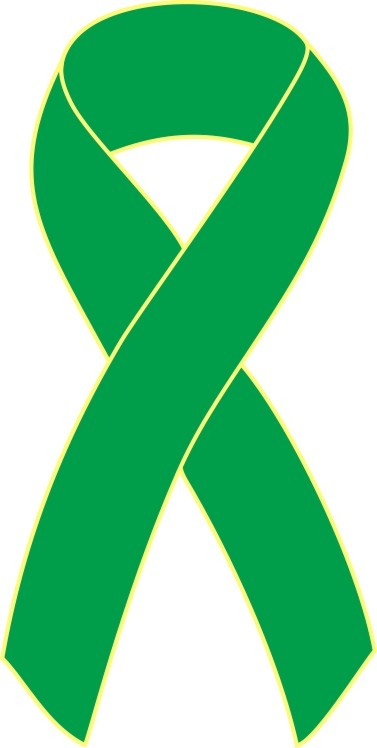 Green cancer ribbon clipart picture freeuse library Green cancer ribbon clipart - ClipartFest picture freeuse library