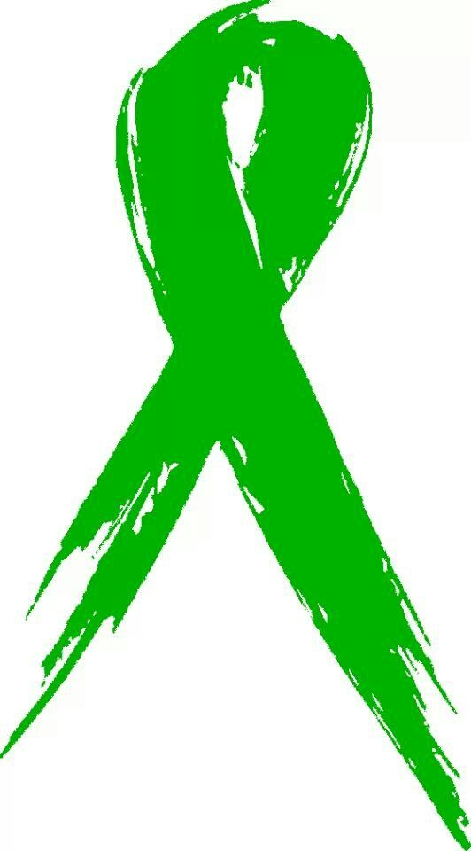 Green cancer ribbon clipart graphic freeuse download Awareness ribbon clipart green - ClipartFest graphic freeuse download