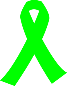 Green cancer ribbon clipart graphic freeuse library Lime Green Cancer Ribbon Clip Art at Clker.com - vector clip art ... graphic freeuse library