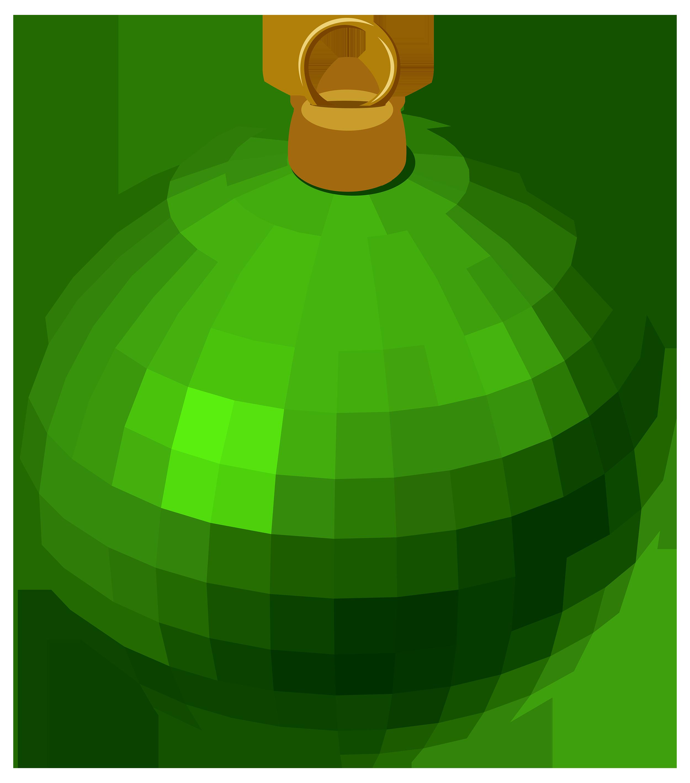 Green christmas ornaments clipart jpg freeuse stock Green Modern Christmas Ball PNG Clipart - Best WEB Clipart jpg freeuse stock