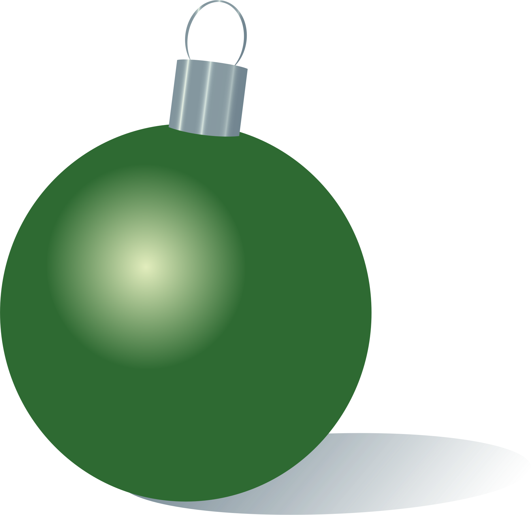 Green christmas ornaments clipart picture library stock Clipart - Green Christmas Ornament picture library stock
