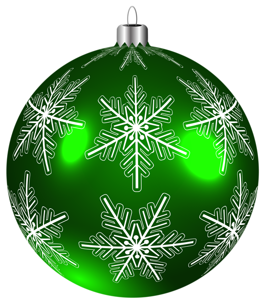 Green christmas ornaments clipart clip art free library Beautiful Green Christmas Ball PNG Clip-Art Image | Christmas ... clip art free library
