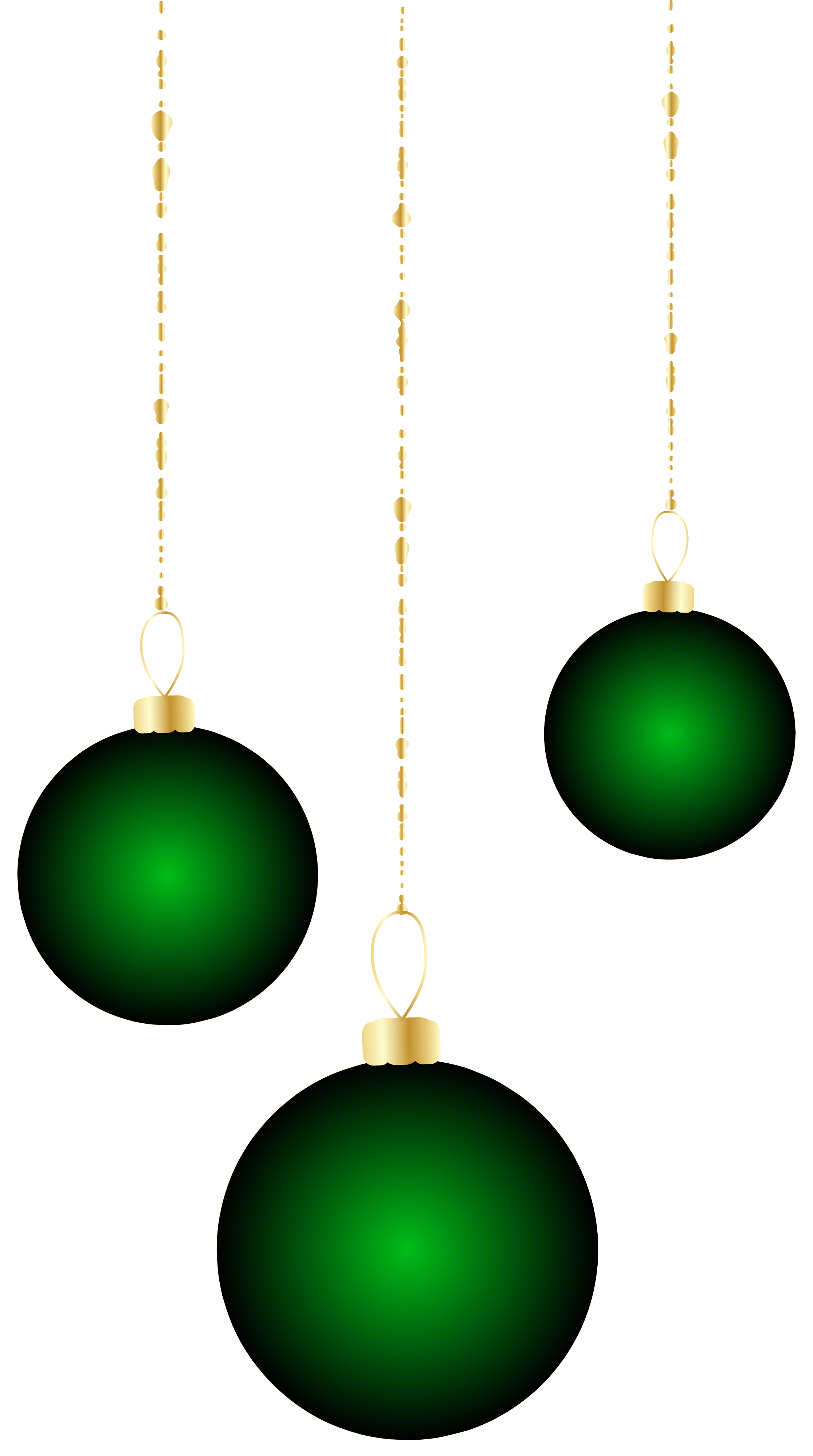 Green christmas ornaments clipart graphic library stock Transparent Christmas Green Ornaments PNG Clipart | Gallery ... graphic library stock