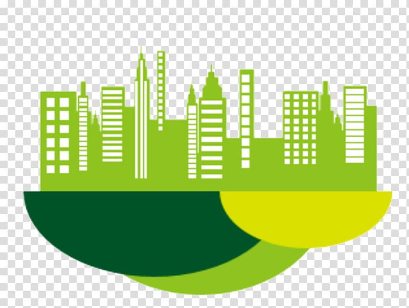 Green city clipart png free Drawing Environmentally friendly Illustration, Green City Building ... png free