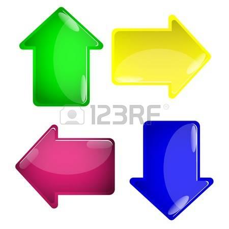 Green clipart arrow head image royalty free Green Arrowhead Cliparts, Stock Vector And Royalty Free Green ... image royalty free