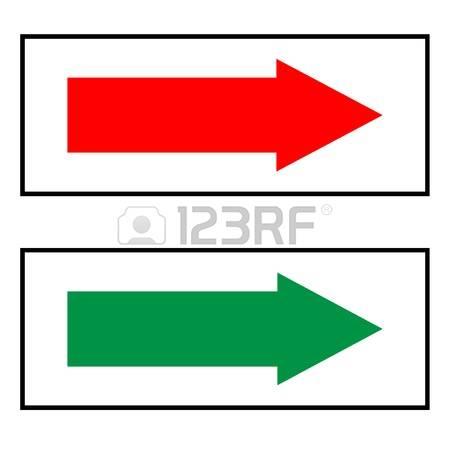 Green clipart arrow head jpg freeuse stock Red and green arrowheads clipart - ClipartFest jpg freeuse stock
