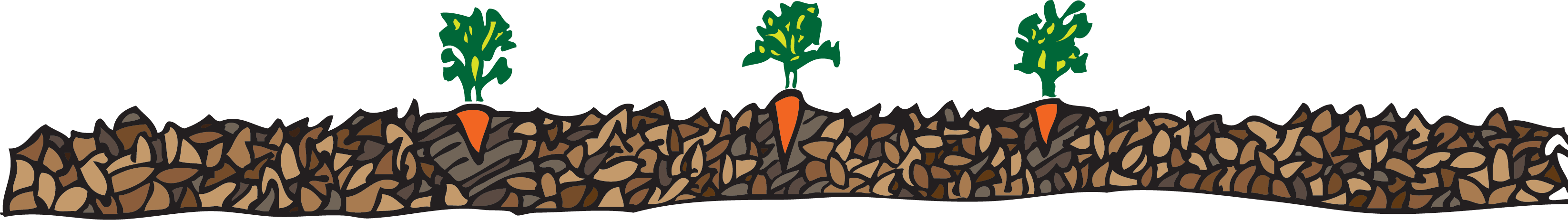 Green compost apple clipart vector transparent library Grow vegetables easily using leaf compost mulch vector transparent library