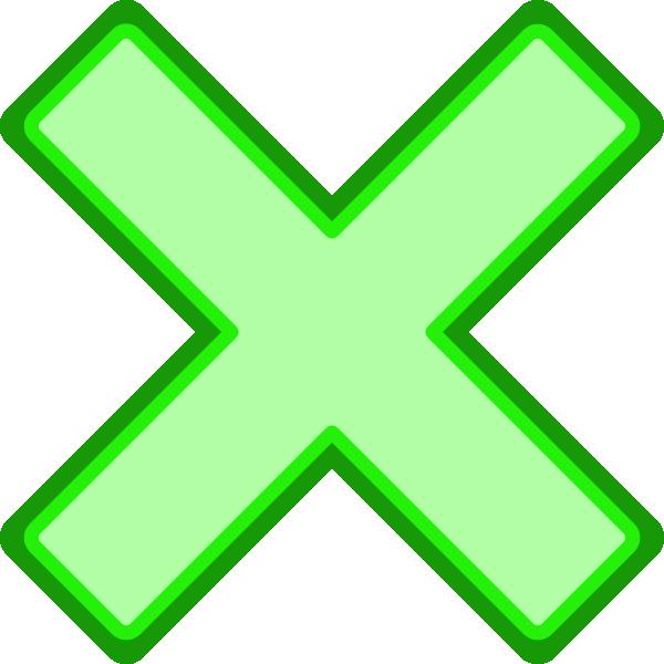 Green cross clipart image transparent stock Green Cross Mark Clip Art at Clker.com - vector clip art online ... image transparent stock
