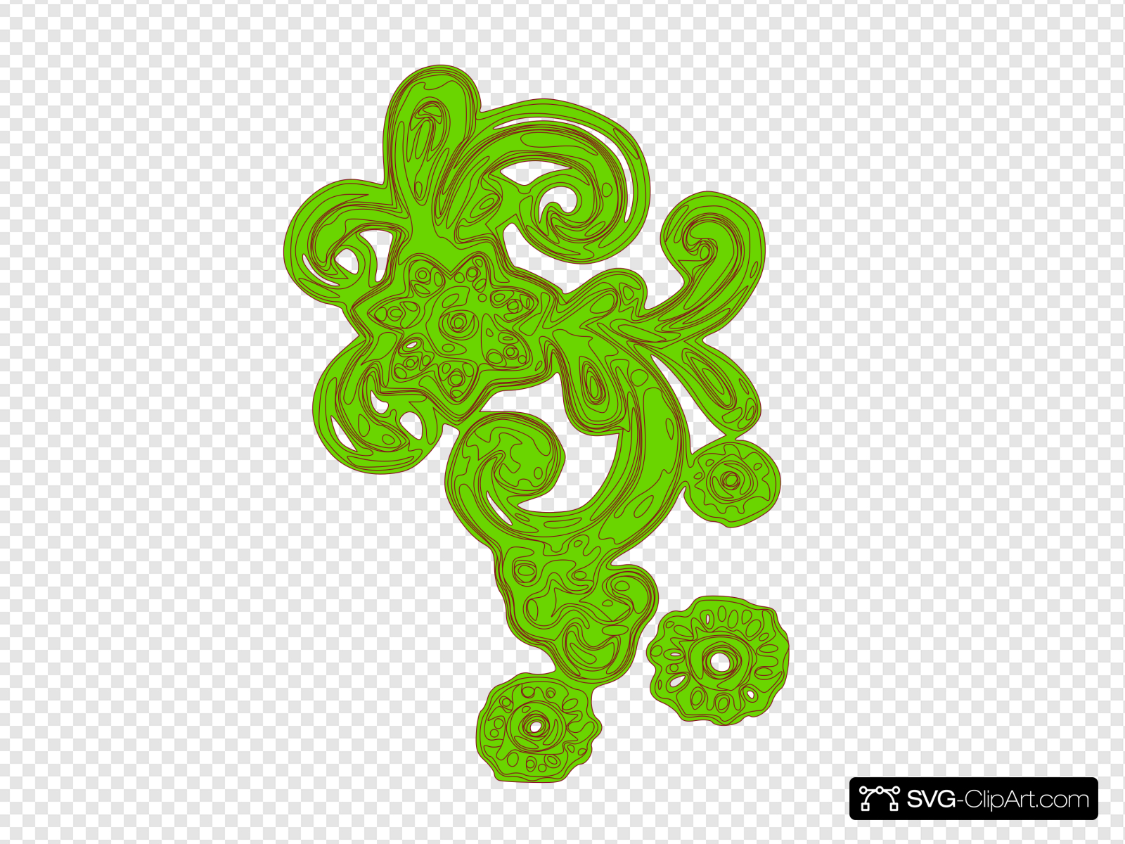 Green decorative clipart vector royalty free Green Decorative Clip art, Icon and SVG - SVG Clipart vector royalty free