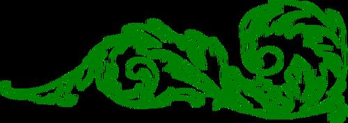 Green decorative clipart banner stock 4664 green free clipart   Public domain vectors banner stock