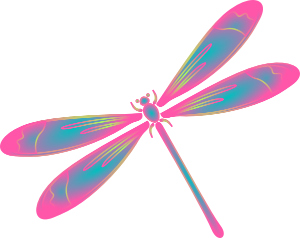 Green dragon fly cliparts clipart Dragonfly Clip Art | Dragonfly In Flight Blue Green Pink clip art ... clipart