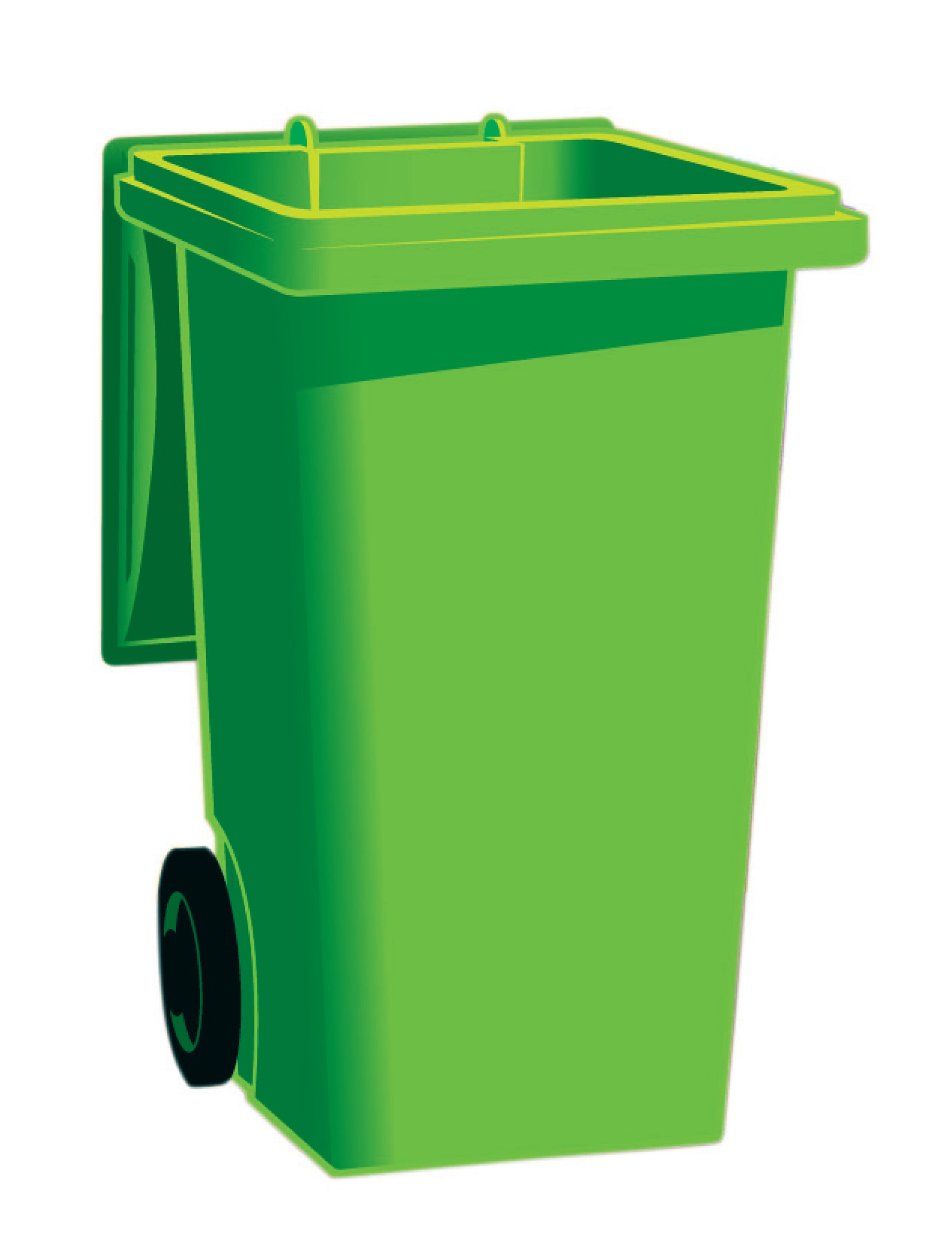 Green dumpster clipart transparent download Green garbage can clipart - Clip Art Library transparent download