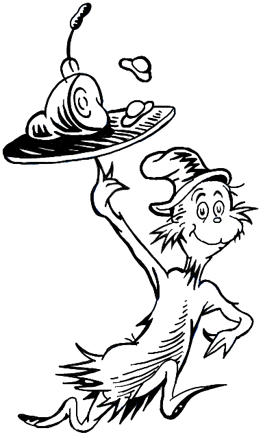 Green eggs and ham clipart black and white black and white stock How to Draw Sam I Am from Green Eggs and Ham in Easy Steps | Blue ... black and white stock